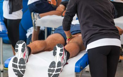 How sports massage can help athletes to enjoy success