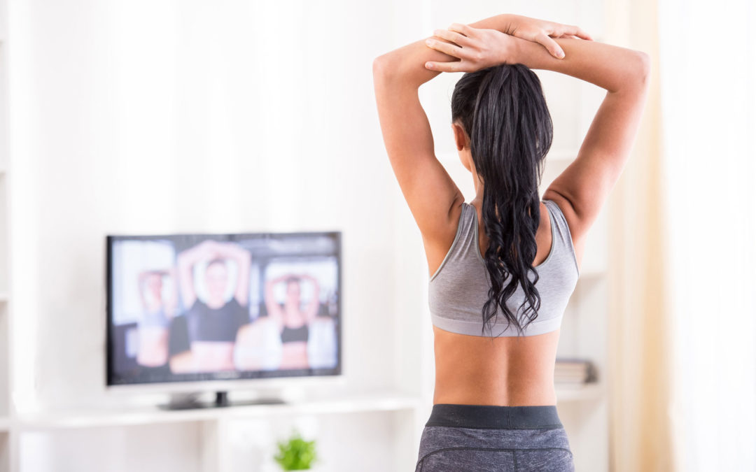 6 Ways to Exercise While Watching TV